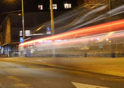 rue de nuit Onex