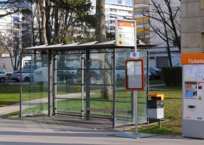 arrêt bus Onex