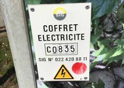 Coffret électrique Onex